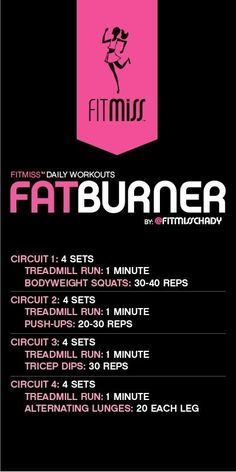 FitMiss Fat Burner Workout by malinda