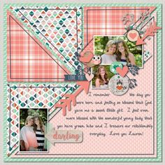 Digital Scrapbook Layouts using Woodland Whimsy | CREATIVE MEMORIES BLOG #scrapbooklayouts #scrapbooking101