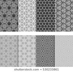 Texture for design wallpaper, pattern fills, web page, banner, flyer. Geometric Patterns, Geometric Tattoo Pattern, Vektor Muster, Line Background, Black And White Lines, Illustration, Stock Foto, Vector Pattern, Designer Wallpaper