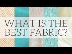 Fibres & Fabrics | What are the most sustainable textiles? - video series #ecofashion #ethicalfashion