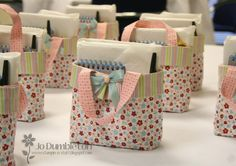 Stampin'Up Baggie - could sell on own or use as packaging for coordinating gift