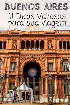 Buenos Aires, na Argentina: Dicas para você planejar sua viagem de férias. Descubra o que esperar de uma viagem, quando ir, documentos necessários, como fazer câmbio e trocar dinheiro,como se locomover, onde se hospedar,o que comer, atrações, pontos turísticos, show de tango e outras informações de turismo e mochilão