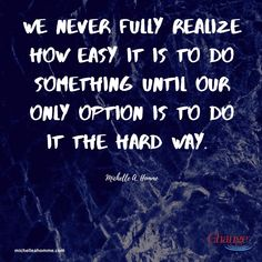 We've all taken things for granted...now we must find new ways to do what was once easy. #perspective All You Can, Give It To Me, Let It Be, Tough Times, Hard Times, Life Is Tough, Attitude Of Gratitude, Taken For Granted, Simple Words
