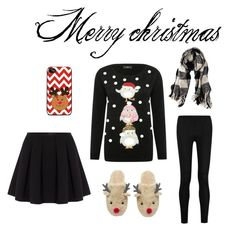"""""""Merry Christmas"""" by funnybunny187 ❤ liked on Polyvore featuring interior, interiors, interior design, home, home decor, interior decorating, American Eagle Outfitters, Polo Ralph Lauren, M&Co and Donna Karan"""