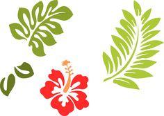hawaiian stencils free   ... 24 clip art - vector clip art online, royalty free & public domain