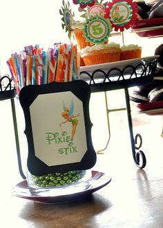 "Peter Pan Party see ""cake pop my heart"" for more fairy bday party ideas"
