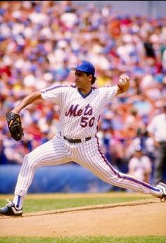Sid Fernandez, New York Mets, was absolutely dominating before injuries caught up with him. Pitched better when he was heavier but the extra weight prevented him from going more than 7 innings.