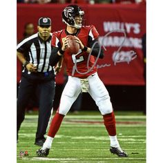 "Matt Ryan Atlanta Falcons Fanatics Authentic Autographed 8"" x 10"" Red Looking to Pass Photograph - $99.99"