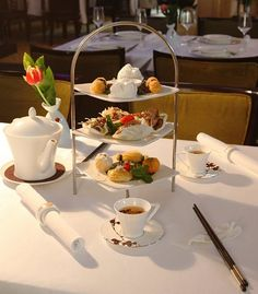 Oriental Afternoon Tea at Grand Imperial London. £20 - AftertoonTea.co.uk