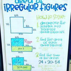 How to find area on irregular figures via ✨ @padgram ✨(http://dl.padgram.com)