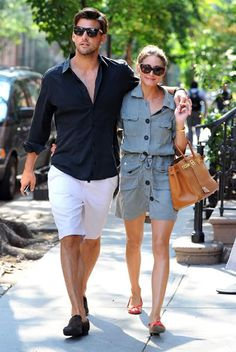 Olivia Palermo and Johannes Huebl | The Seaside Style - Seaside Florida - Seaside Stores