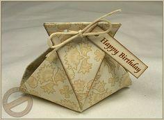 MMM #1 - Origami-Täschchen