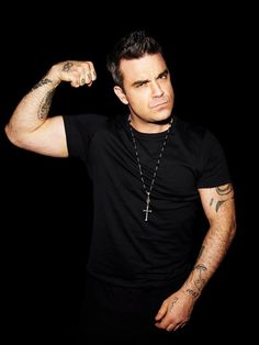 Robbie Williams...hot as hell
