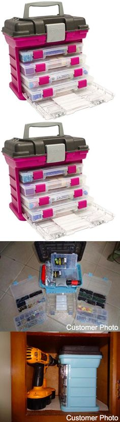 Scrapbooking Totes 146401: Rack Trap Organizer Utility Box For Crafting Hobby Tools Sewing Supplies Jewels -> BUY IT NOW ONLY: $34.99 on eBay!