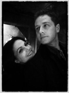 Lana Parrilla + Josh Dallas (excuse me but this is just afdgsafdghashdfsadgasfdgfashgdfgsafdfghdsaSOCUTE omg thanks ginny)