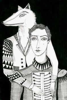 wolves in the walls - daria hlazatova