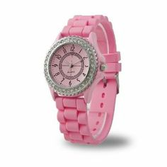 YKS Pink Luxury Stylish Classic Gel Silicone Crystal Men Lady Jelly Watch by YKS. $4.79. Watch Band Material: Silicone. New and high quality. Fashionable elegant. Watch Face Size: Approx 3.8 cm. This Watch a perfect gift for your sweetheart, friends and families for love expression and care