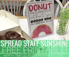 Spread Staff Sunshin