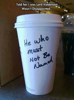 He who must not be named!