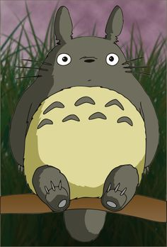 totoro hd by anth07am manga anime digital media vector totoro made by ...