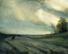 Robert Henri (1865-1929), The March Wind.