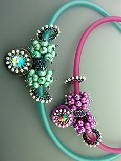 Necklaces by Laura McCabe