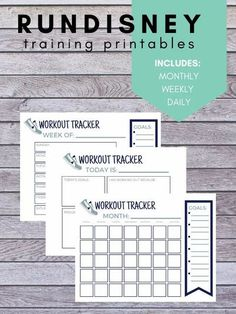 Grab this runDisney activity tracker and get moving this year! You will get a weekly, monthly and daily printable that you can use to achieve your workout goals. #rundisney #disney #disneyprintable #disneyworkout #disneyrun