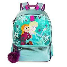 School Backpack Girls Elsa Anna Frozen Genuine Original Authentic Disney  Store  SchoolBackpack My Little Girl 6fd87e46cf