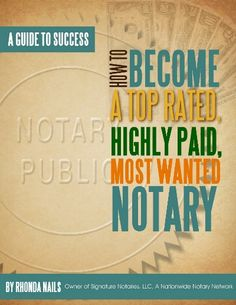 308 best notary public images on pinterest business ideas how to become a top rated highly paid most wanted notary http fandeluxe Gallery