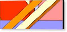 Simple Abstract 63 Canvas Print by Chris Butler. #art #deco #design #interior #home #Decor #wall #modern #contemporary #homedecor #abstractart #interiordesign #tasteful