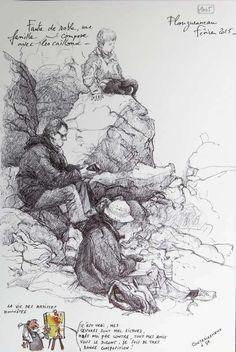 une Bretagne par les Contours / Plouguerneau de Yann LESACHER