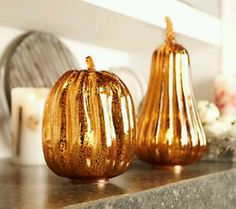 Fall Mercury Glass At QVC.