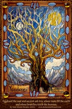 Yggdrasil by BohemianWeasel.deviantart.com on @deviantART