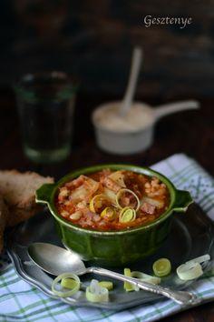 Gesztenye receptjei: Savanyú káposzta leves