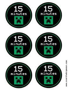 Minecraft time tokens for setting limits on game play
