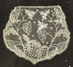 How to make Limerick Lace- PDF Victorian digitalised instructions Needle Lace, Bobbin Lace, Antique Lace, Vintage Lace, Lacemaking, Irish Lace, Lace Patterns, Vintage Knitting, Creative Crafts