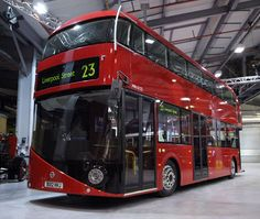 London's new route master bus