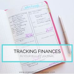 """As the """"Finances"""" prompt comes for the #planwithmechallenge, I wanted to share how I make finance tracking work in my bullet journal. Many of us strive to get our finances in order, and have many g..."""
