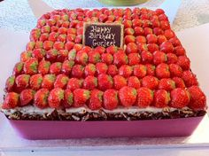 Time for Cake Buttercream Cake, Strawberry, Happy Birthday, Fresh, Food, Buttercream Ruffles, Happy Brithday, Urari La Multi Ani, Essen