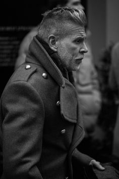 Nick Wooster - hair & that coat