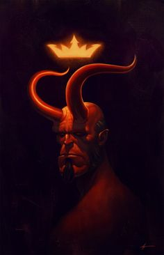 Hellboy by Justin Erickson