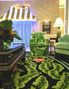 The Glam Pad: Carleton Varney Colorizes The Colony Hotel