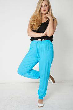 Basic Blue Smooth Trousers only for £8.99  Click link to visit our shop.