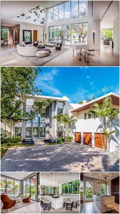 Sunset House. #KobiKarp #Architecture #HomeInspiration #DesignInspiration #InteriorDesign #luxuryhomes #beautifulhomes #house #design #Miami #architects
