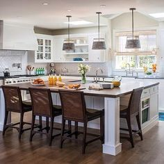 Oak Countertops, Transitional, kitchen, Norman Design Group