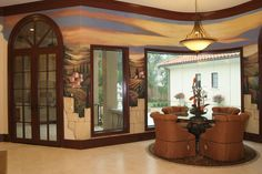 www.dwcustommurals.com, Dream Walls Murals and Faux Finish, By Artist Alfredo Montenegro
