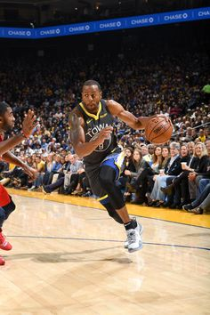 Andre Iguodala of the Golden State Warriors handles the ball against the New Orleans Pelicans on October 2018 at ORACLE Arena in Oakland, California. Get premium, high resolution news photos at Getty Images Oracle Arena, Andre Iguodala, New Orleans Pelicans, Nba Stars, October 31, Nba Champions, Golden State Warriors, Basketball, Oakland California