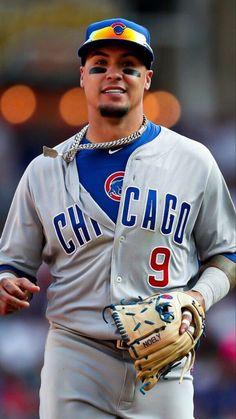 Cubs Baseball, Baseball Players, Baseball Cards, Baez Cubs, Chicago Cubs History, Cubs Players, Go Cubs Go, Cubs Fan, Oakland Athletics