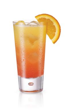 PINNACLE® ORANGE FUNSICLE 1 PART PINNACLE® WHIPPED® VODKA 1 PART ORANGE JUICE 1 PART LEMON-LIME SODA SPLASH GRENADINE Mix in a glass with ice and garnish with an orange wedge.