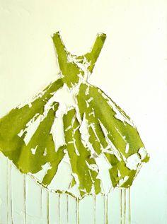 long dress art installation - Google Search